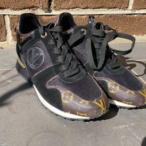 Louis Vuitton Run Away sneaker.